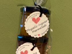 Physalis-Ingwer-Marmelade und Quitten-Gelee
